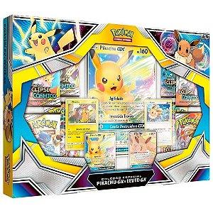 Box Pokemon Pikachu e EEVEE