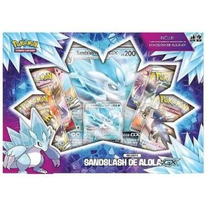 Box Pokemon Sandslash de Alola