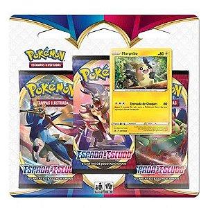 Carta Pokemon triplo Espada e Escudo série 1