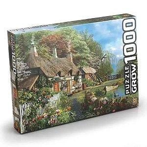 Puzzle Casa no Lago 1000 peças