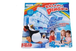 Jogo Balança Pinguim