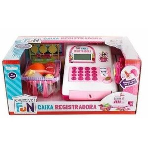 Creative Fun Caixa registradora Rosa
