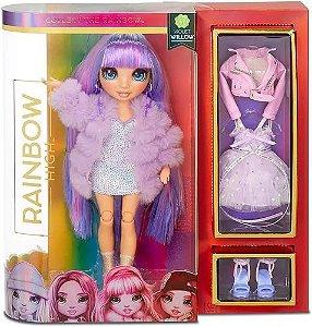 Boneca Rainbow High Fashion Violet & Ruby