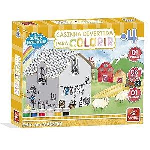 Casinha para Colorir