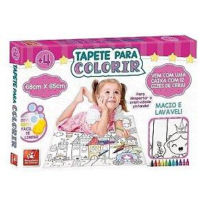 Tapete para Colorir Princesas