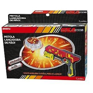 Pistola lançadora de Pião Simples