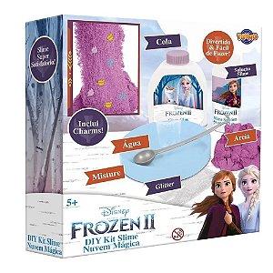 Faça Sua Slime Nuvem Mágica Frozen