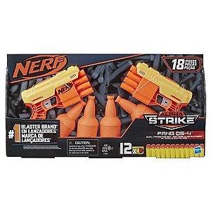 Nerf Alpha Strike Cobra com Alvo Duplo