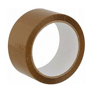 Fita adesiva polipropileno 45mm Marrom - Unidade