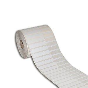 Etiqueta de jóias 95x12mm (alça direita) BOPP adesivo para Zebra Argox Elgin - Rolo com 2000 (30m)