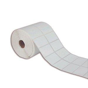 Etiqueta 50x30mm (2 colunas) BOPP adesivo para Zebra Argox Elgin - Rolo com 1818 (30m)