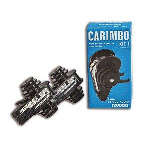 Kit 1 Carimbo para etiquetadora Torres Biônica