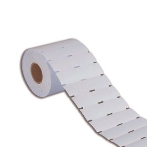 Etiqueta de Gôndola 105x30mm em Couché cartão Branca para Zebra Argox Elgin - Rolo com 1000 (30m)