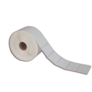 Etiqueta 50x50mm (1 coluna) BOPP adesivo para Zebra Argox Elgin - Rolo com 566 (30m)