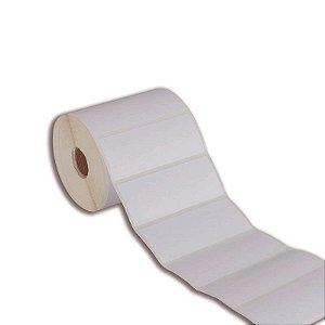 Etiqueta 100x30mm Couché adesivo para Zebra Argox Elgin - Rolo com 909 (30m)
