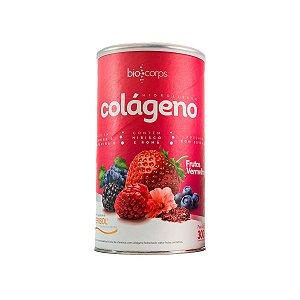 Colágeno Hidrolisado Verisol Biocorps 300g Frutas vermelhas