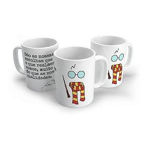 Caneca Harry Potter - Assinatura Dubledore