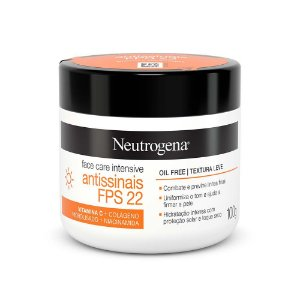 Neutrogena Face Care Intensive Antissinais FPS 22