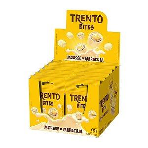 Trento Wafer Bites Mousse De Maracujá Com 12un