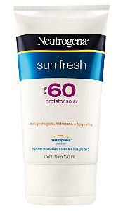Sun Fresh Protetor Solar Neutrogena - FPS 60 120ml