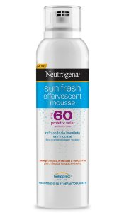 Sun Fresh Mousse Protetor Solar Neutrogena - FPS 60 200ml