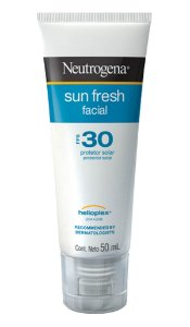 Sun Fresh Protetor Solar Facial Neutrogena- FPS 30 50ml