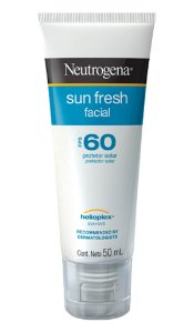 Sun Fresh Protetor Solar Facial Neutrogena FPS 60 50ml