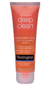 Neutrogena Deep Clean Gel de Limpeza Grapefruit - 80g