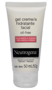 Neutrogena Gel Facial Oil-Free pele Mista a oleosa - 50 ml