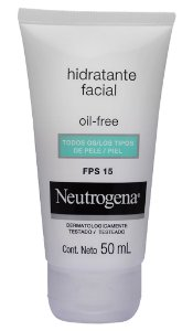 Neutrogena Loção Facial Oil Free FPS15 50 ml