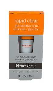 Neutrogena Rapid Clear Spot Gel Secativo - 15g