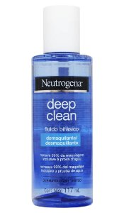 Neutrogena Deep Clean Óleo Bifásico Demaquilante - 117 mL