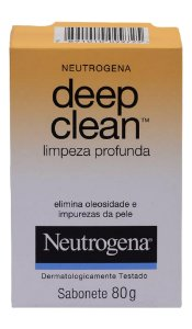 Neutrogena Deep Clean Sabonete - 80g