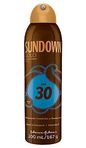 Bronzeador Sundown Gold Spray - FPS 30 200 mL
