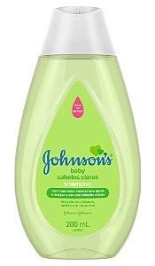Johnson's Baby Shampoo Infantil Cabelos Claros 200 ml