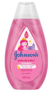 Johnson's Baby Shampoo Infantil Gotas de Brilho - 200 mL