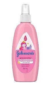 Johnson's Baby Spray Infantil Gotas de Brilho - 200mL