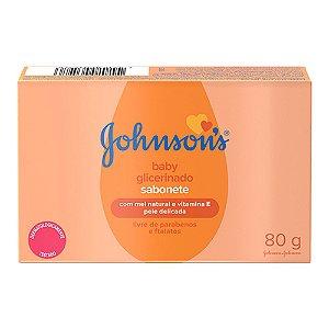 Johnson's Baby Sabonete Infantil Glicerinado - 80g