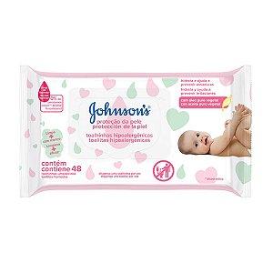 Johnson's Baby Lenços Umedecidos Extra Cuidado - 48 Unidades