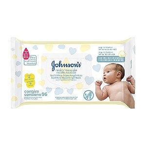 Johnson's Baby Lenços Umedecidos Recém Nascido - 96 Unidades