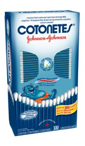 Cotonetes Johnson's - 300 unidades