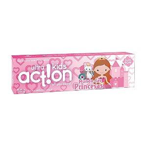 Gel Dental Boni Kids Mundo das Princesas Tutti Frutti - 50g