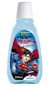 Enxaguatório Bucal Neutrocare Super Man Bubble Gum – 250ml