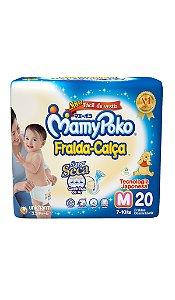 Fralda-Calça MamyPoko Tamanho M – 20 unidades