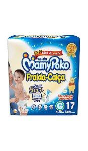 Fralda-Calça MamyPoko Tamanho G – 17 unidades