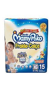 Fralda-Calça MamyPoko Tamanho XG – 15 unidades