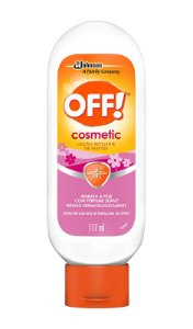 Repelente Off Cosmetic Loção - 117 ml