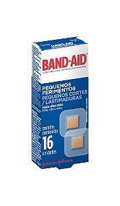 Band Aid Curativo Pequenos Ferimentos  - 16 Unidades