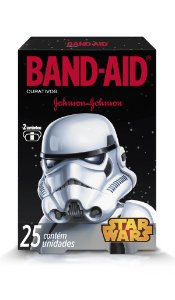 Band Aid Curativo Star Wars - 25 Unidades