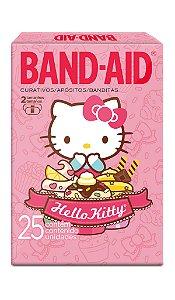 Band Aid Curativo Hello Kitty - 25 Unidades